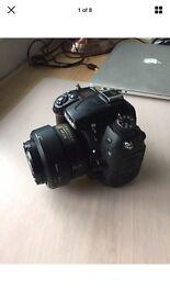 Nikon d7000 with 35mm prime lens
