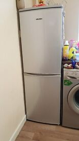 BUSH washer and fridge freezer - immaculate condition - 1yr old.