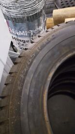New snow tyres to fit transit vw etc