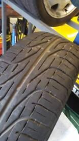 Tyre 195 55 15 inch p6000. lots of tread left