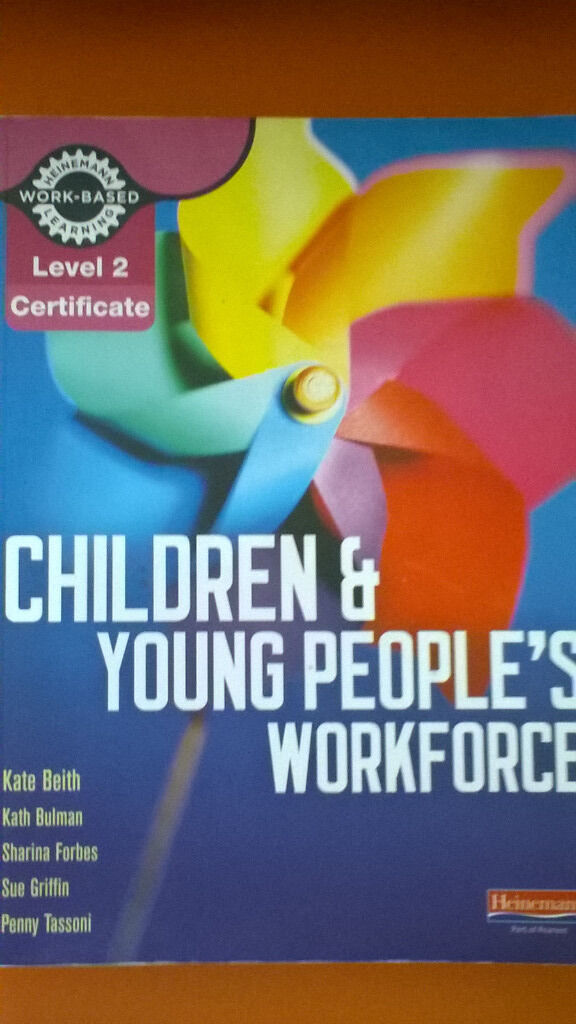 New - GCSE books, Childcare books for Level 1,2, 3