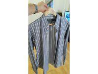 Ralph Lauren Polo Shirt - Poplin - Brand New! Blue Size M Medium