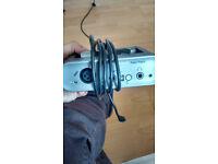 M-Audio Fast Track Audio Interface.