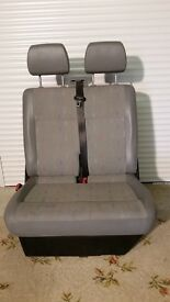 VW T5 Transporter Front Bench Seat (Inca Design) in very good condition.