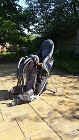 Child Carrier - Deuter Kid Comfort III (with rain cover) good condition