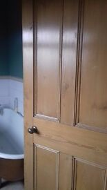 Victorian/Art deco stripped pine salvaged doors great business opportuniy