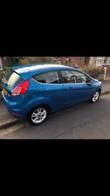 Ford fiesta 1.25 zetec 65 plate low miles!
