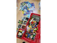 Lego and Lego Technic lot, 8.2kg total, various sets, Pneumatic, Electric, mostly 1990's.