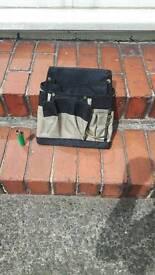 Tool bag side belt bag