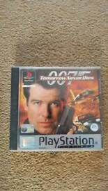 PS1 Tomorrow Never Dies game