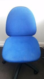 Computer chair - blue