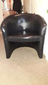 2x black Chairs