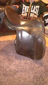 english leather cob saddle