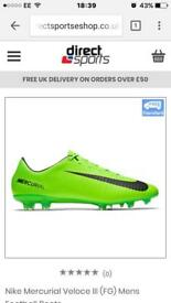 Nike mecurals football boots