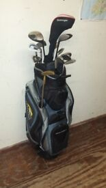 Mizuno golf clubs & Powakaddy bag