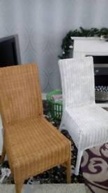 X4 wicker chairs