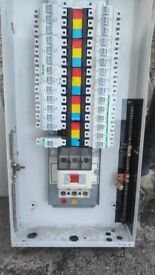 Crabtree Polestar 125A TPN (Three Phase) Type B 10 Way Distribution Board
