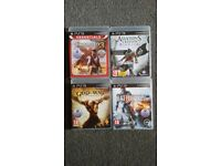 PS3 games for sale 4games 10quid