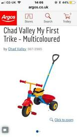 CHAD VALLEY MY 1ST TRIKE USED ONLY ONCE
