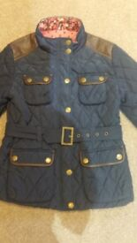 Next girl's quilted coat