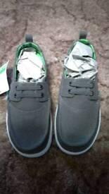 Brand new Sanuk slip-on offshore boys shoes, UK size 12