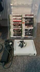 Xbox 360 plus 50 games