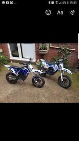 Electric dirt bikes