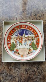 Wedgwood 'A Child's Christmas 1979' decorative/commemorative plate