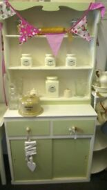 Retro kitchen cupboard 1950s style