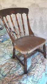 Upcycling chair project