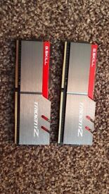 G.Skill DDR4 16GB Trident Z 3200Mhz PC4-25600 CL16 1.35V Dual Kit (2x8GB)