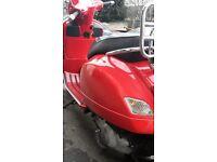 PIAGGIO VESPA --250 GTS-CLEAN 2006-28K-1 X YR MOT-SOLD WITH V5 logbook-250 GTS-solid runner bike