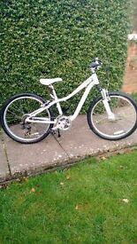 """Specialized Hotrock 24"""" girls mountain bike"""