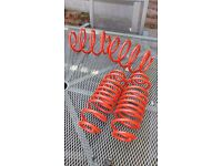"""Cherry bomb exhaust, 4 springs for lower suspension & 4 16"""" alloys with wheels"""