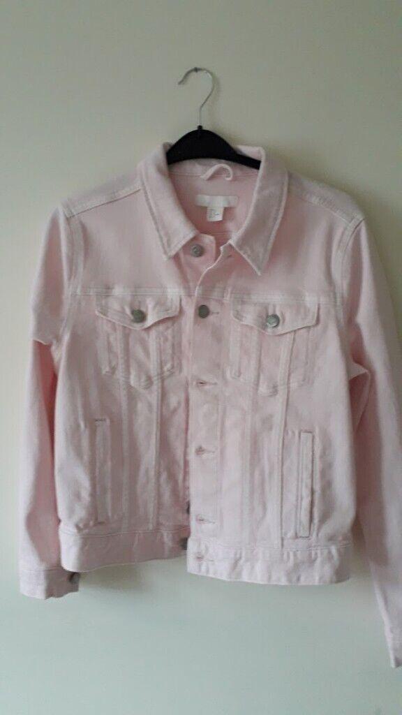 8956805b26bf H   M Pink Jean Jacket