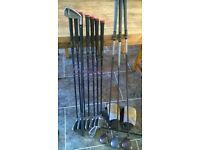 Ladies golf full set of irons and woods