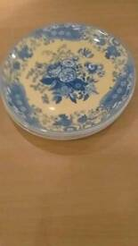 6 Extra large Spode dinner plates