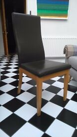 Six Multiyork dining chairs