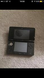 Nitendo 3ds with accessories and games.