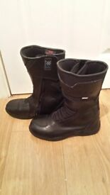 motor bike boots size 5