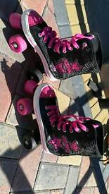 Girls Roller Boots Size 3 uk