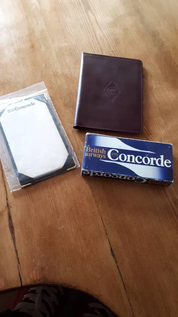 Concorde memoribilia