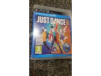 Ps3 game JUST DANCE 2017