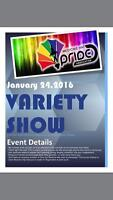 First Annual Pride Variety show!