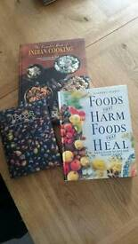 Various cookery and health book
