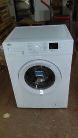 BEKO white 7KG WASHING MACHINE new ex display