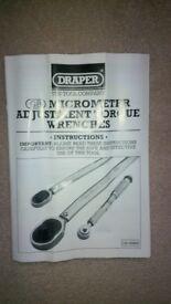 Draper 3001a Torque Wrench