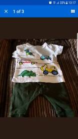 Next boys 3-6 months outfit