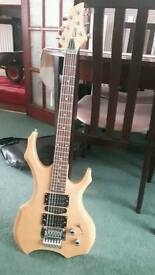 Swift electric guitar with case