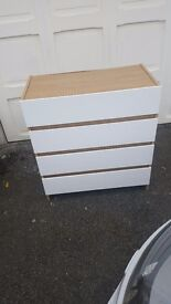 Set of 4 drawers, good condition